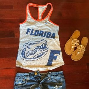 Nike dri fit XS Florida Gator tank top
